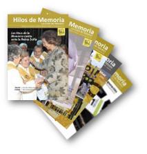 portadas revistas hilos de la memoria