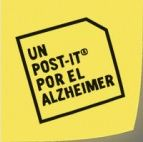 Logo Un post it para el Alzheimer